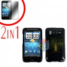For HTC Inspire 4G Cover Hard Case Dream Tree + Screen Protector 2-in-1