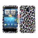 FOR HTC Desire HD Cover Hard Phone Case R-Leopard