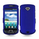 For Samsung Gem i100 Cover Hard Phone Case Rubberized Blue
