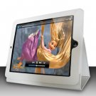 For Apple ipad 2 Cover Leather Case w/ Kick Stand White