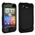 FOR HTC Incredible S Cover Hard Phone Case Black