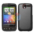 FOR HTC Desire Cover Hard Case Rubberized Black