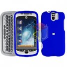 FOR HTC MyTouch 3G Slide Cover Hard Case Rubberized Blue