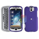FOR HTC MyTouch 3G Slide Cover Hard Case Rubberized Purple
