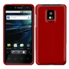 For LG T-Mobile G2x Cover Hard Case Rubberized Red