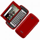 For Samsung Sidekick 4G T839 Cover Hard Phone Case Rubberized Red