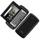 For Samsung Sidekick 4G T839 Cover Hard Phone Case Rubberized Black