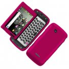 For Samsung Sidekick 4G T839 Cover Hard Phone Case Rubberized Rose Pink