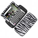 For Samsung Sidekick 4G T839 Cover Hard Phone Case Zebra