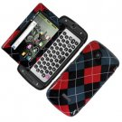 For Samsung Sidekick 4G T839 Cover Hard Phone Case R-Plaid