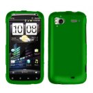 FOR HTC Sensation 4G Cover Hard Phone Case Rubberized Green
