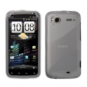 FOR HTC Sensation 4G Cover Hard Phone Case Clear