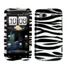 FOR HTC Sensation 4G Cover Hard Phone Case Zebra