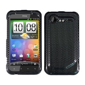 FOR HTC Droid Incredible 2 Cover Hard Phone Case Carbon Fiber