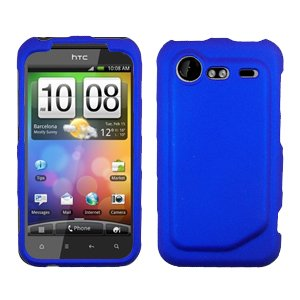FOR HTC Droid Incredible 2 Cover Hard Phone Case Blue