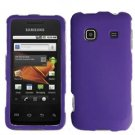 For Samsung Galaxy Prevail Cover Hard Case Rubberized Purple