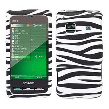 For Samsung Galaxy Prevail Cover Hard Case Zebra