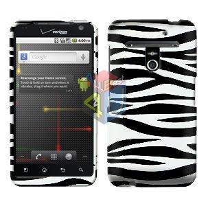 For LG Revolution VS910 Cover Hard Case Zebra