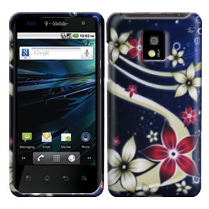For LG Optimus 2x P990 Cover Hard Case G-Flower