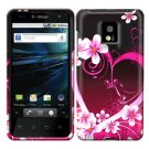 For LG Optimus 2x P990 Cover Hard Case Love