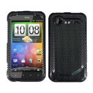 FOR HTC Incredible S Cover Hard Phone Case Carbon Fiber