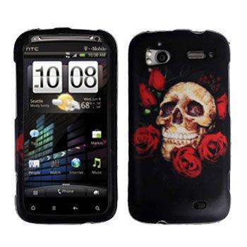 FOR HTC Sensation 4G Cover Hard Phone Case R-Skull