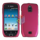 For Samsung Exhibit 4G Cover Hard Case Rubberized R-Pink ( SGH-T759 )