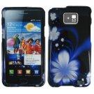 For Samsung Galaxy S II i9100 Cover Hard Case B-Flower