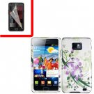 For Samsung Galaxy S II i9100 Cover Hard Case G-Lily +Screen Protector