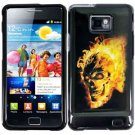 For Samsung Galaxy S II i9100 Cover Hard Case F-Skull