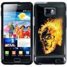 For Samsung Galaxy S II i9100 Cover Hard Case F-Skull