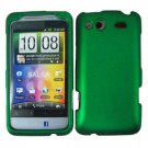 For HTC Status / ChaCha Cover Hard Case Green