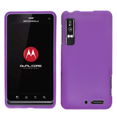For Motorola Droid 3 XT862 Cover Hard Case Purple