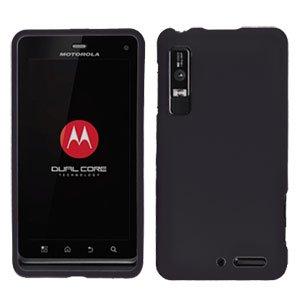 For Motorola XT860 4G / Droid 3 Cover Hard Case Black