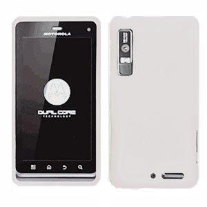 For Motorola Droid 3 XT862 Cover Hard Case White
