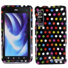 For Motorola XT860 4G / Droid 3 Cover Hard Case R-Dot