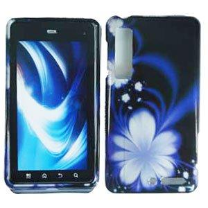For Motorola Droid 3 XT862 Cover Hard Case B-Flower