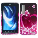 For Motorola Droid 3 XT862 Cover Hard Case Love