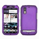 For Motorola Photon 4G/ Electrify MB855 Cover Hard Case Purple