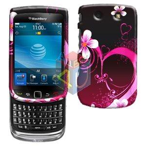 For BlackBerry Torch 9810 4G Cover Hard Case Love