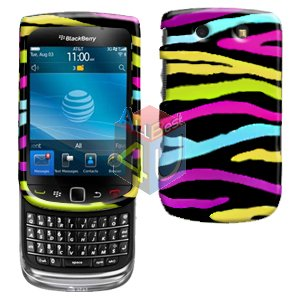 For BlackBerry Torch 9810 4G Cover Hard Case Rainbow