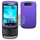 For BlackBerry Torch 9810 4G Cover Hard Case Purple + Screen Protector