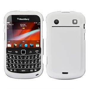 For BlackBerry Bold 9900 4G Cover Hard Case White