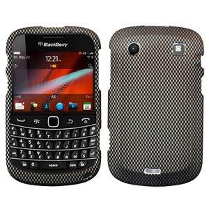 For BlackBerry Bold 9900 4G Cover Hard Case Carbon Fiber