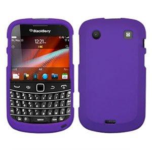 For BlackBerry Bold 9900 4G Cover Hard Case Purple