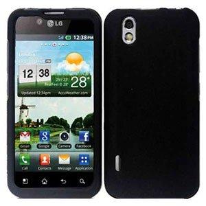 For LG Marquee LS855/ Optimus Black P970 Cover Hard Case Black