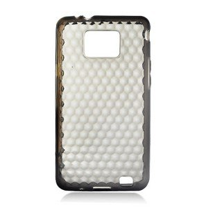 For Samsung Galaxy S II 4G TPU Case H-Clear -Smoke