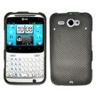 For HTC Status / ChaCha Cover Hard Case Carbon fiber