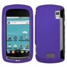 For LG Genesis US760 Cover Hard Case Purple