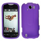 FOR HTC MyTouch 4G Slide cover hard case Purple